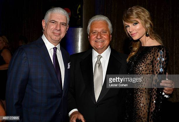Managing Partner/Head of Music at Creative Artists Agency Rob Light Sony/ATV Music Publishing Chairman/CEO Martin Bandier and singer Taylor Swift...