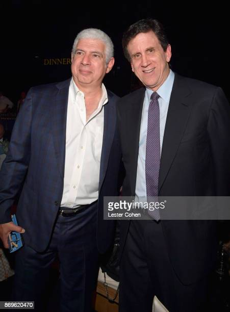 Managing Partner/Head of Music at Creative Artists Agency Rob Light and City of Hope Executive Board Member Zach Horowitz at MFEI Spirit Of Life...