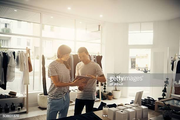 Verwaltung von Boutique die moderne Art