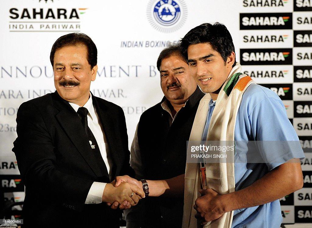 Managing Worker and Chairman of Sahara India Pariwar Subrata Roy