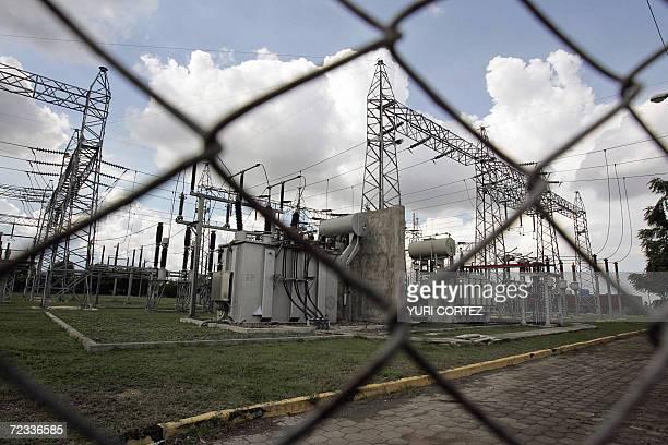 ACOMPANA NOTA Vista de una subestacion electrica en Managua el 01 de noviembre de 2006 Los diarios cortes de luz que los nicaragenses soportan desde...