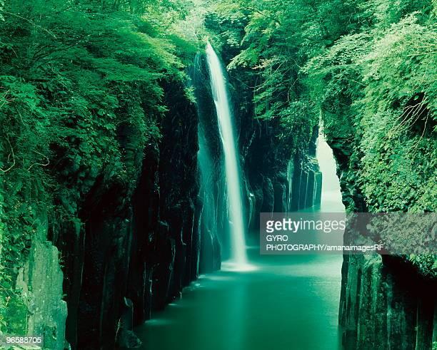 Manai waterfall, Miyazaki Prefecture, Kyushu, Japan
