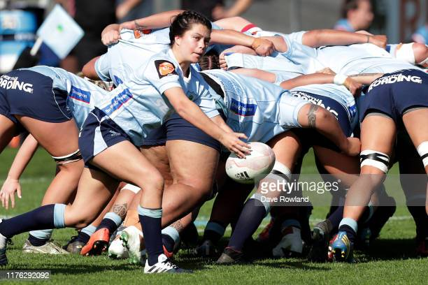Manaia Webb of Northland during the round 4 Farah Palmer Cup match between Northland and North Harbour at Semenoff Stadium on September 22 2019 in...