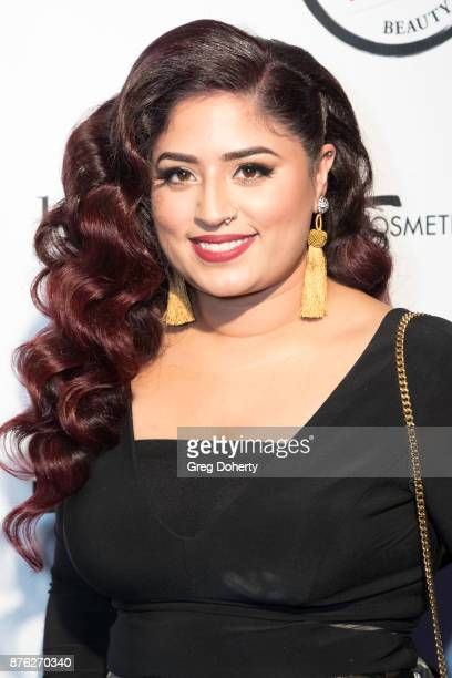 Manal Shaikh attends the American Influencer Award at The Novo by Microsoft on November 18 2017 in Los Angeles California