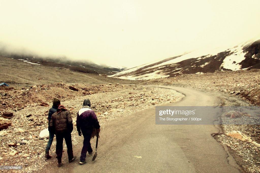 Manali-leh Highway : Stock Photo