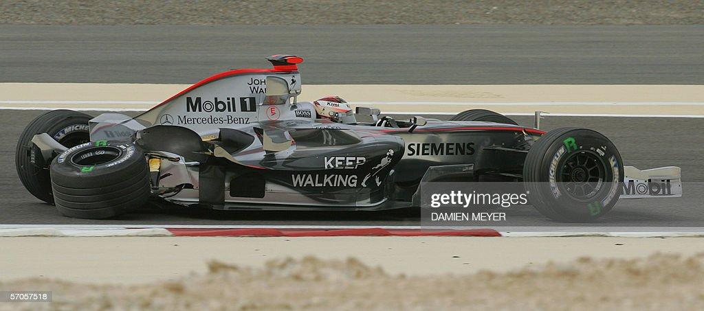 Finnish McLaren-Mercedes driver Kimi Rai : News Photo