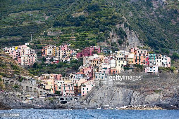 Manarola Cinque Terre Italy Summer Vacation Travel Destination