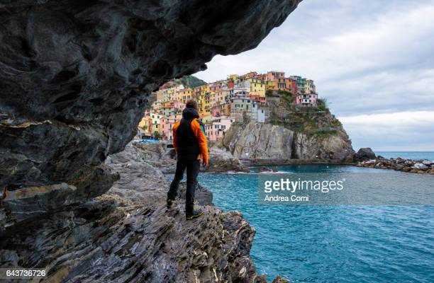 Manarola, Cinque terre, La Spezia, Liguria, Italy.