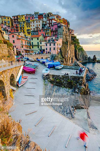 Manarola, Cinque Terre national park, La Spezia province, Liguria, Italy
