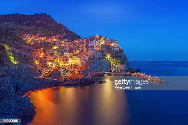 Manarola in the night