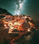 manarola under stars