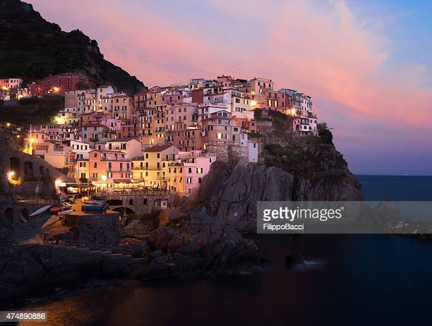 Manarola View At Sunset