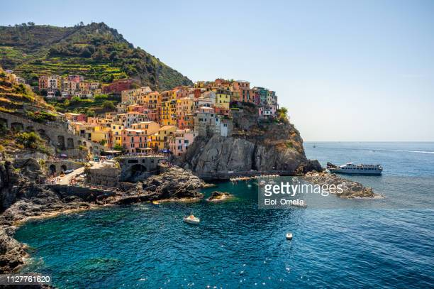manarola village , cinque terre - italy stock pictures, royalty-free photos & images