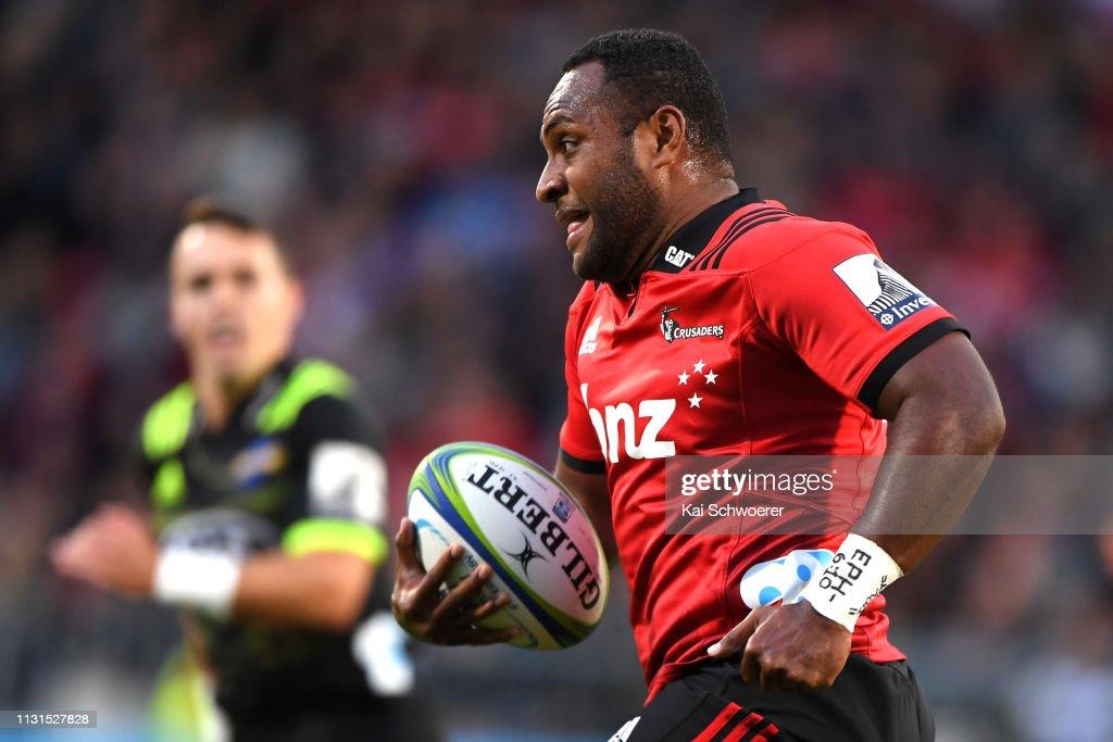Super Rugby Rd 2 - Crusaders v Hurricanes : News Photo