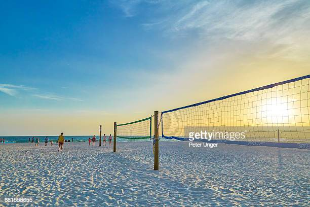 manatee public beach at sunset,anna maria island - anna maria island stock pictures, royalty-free photos & images