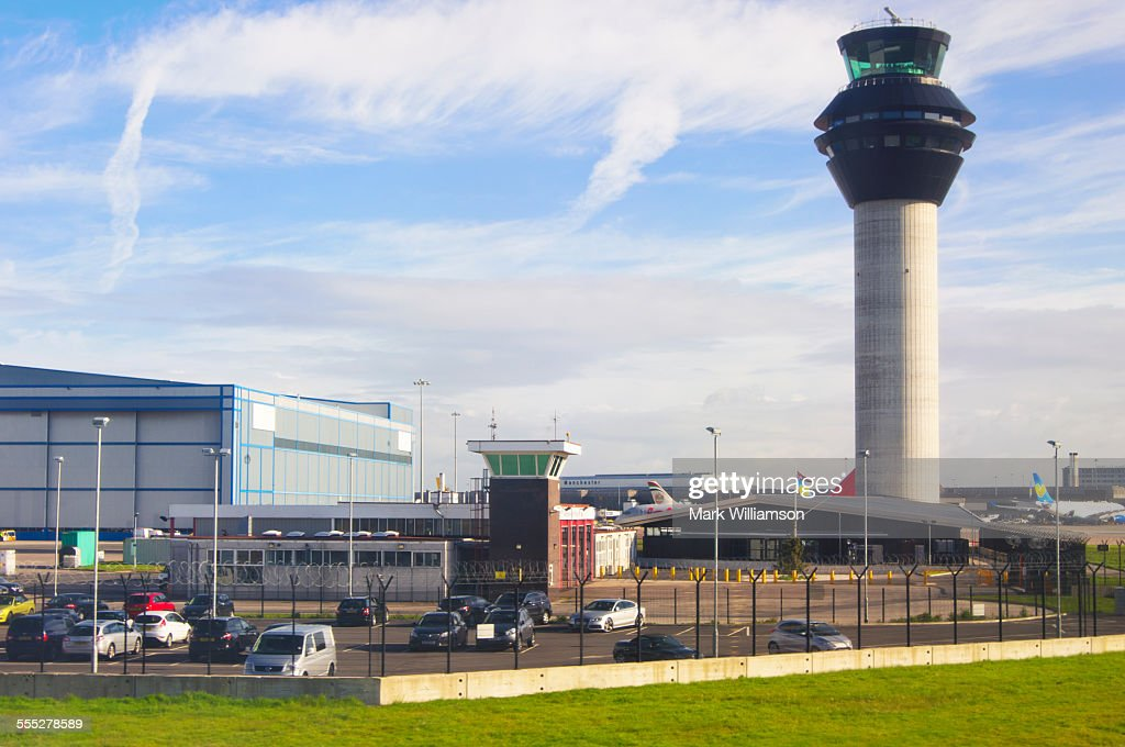 Manchester airport. : Stock Photo