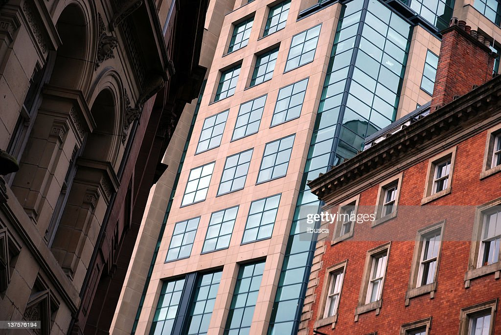 Manchester buildings : Stock Photo