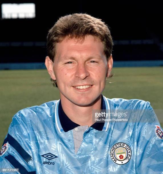 Manchester City and England footballer Clive Allen circa August 1991
