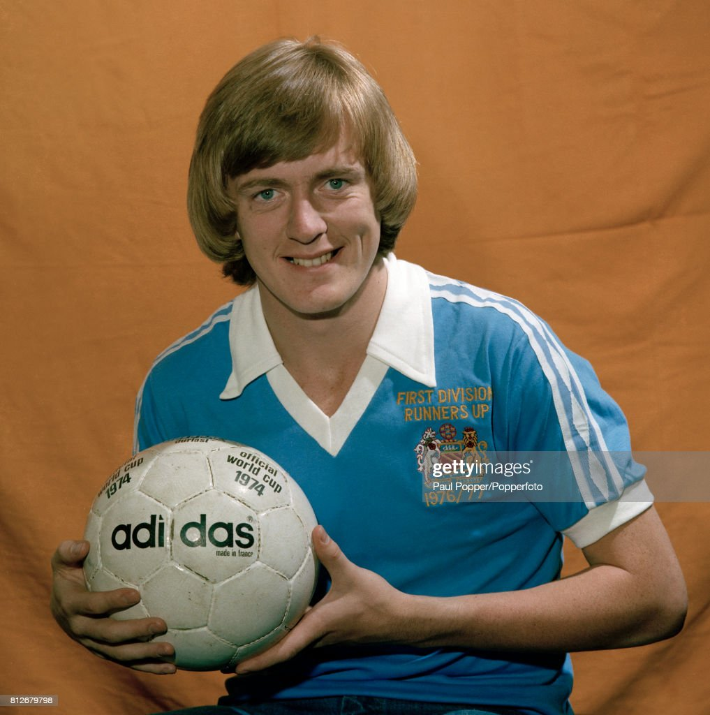 Peter Barnes - Manchester City and England : News Photo