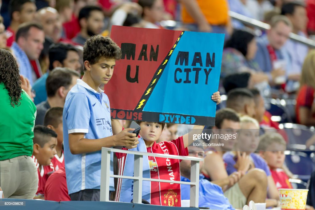 SOCCER: JUL 20 International Champions Cup - Manchester United v Manchester City : News Photo