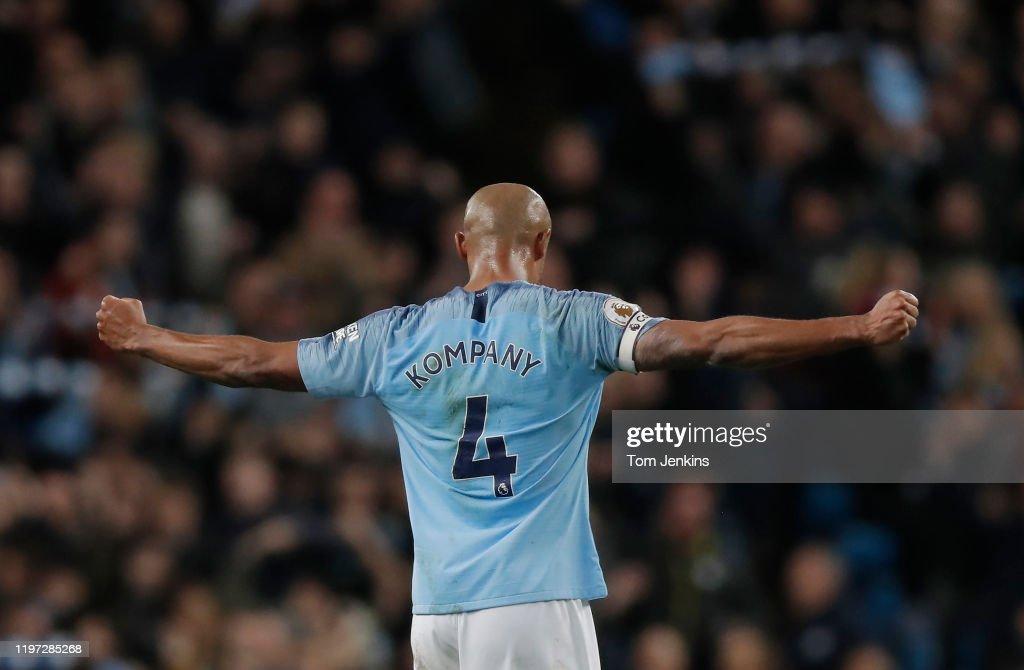 Manchester City v Leicester City : News Photo
