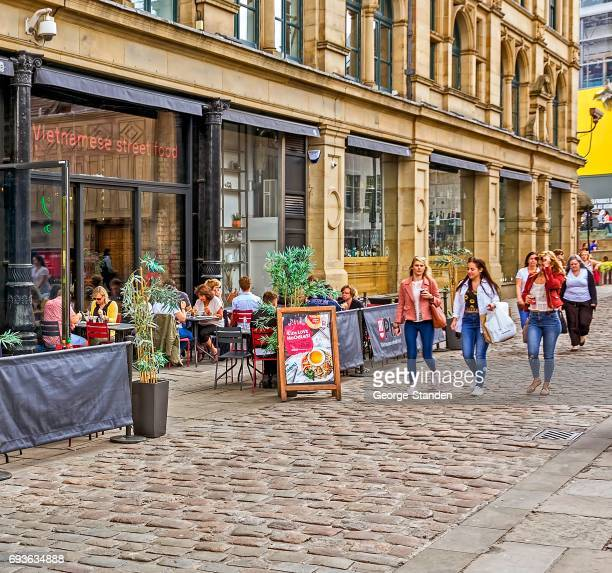 manchester city center - manchester england stock pictures, royalty-free photos & images