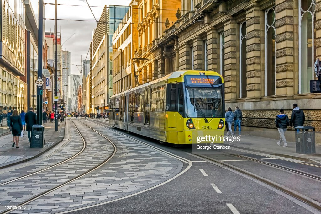 Manchester City Centre. : Stock Photo