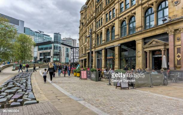 manchester city centre - cheshire england stock pictures, royalty-free photos & images