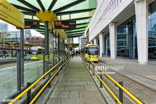 manchester city centre - greater manchester stock pictures, royalty-free photos & images