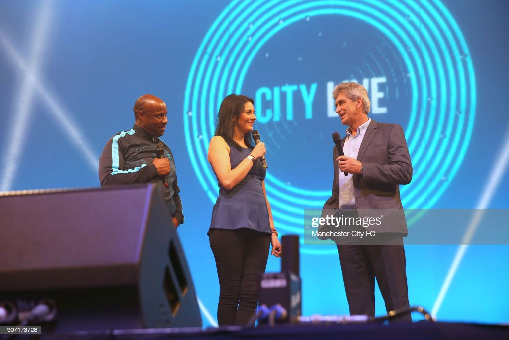 Soccer - Manchester City - City Live! - Manchester Central : News Photo