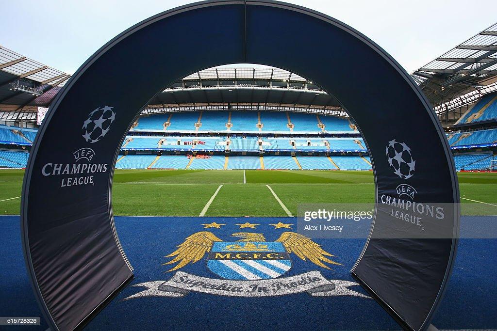 Manchester City FC v FC Dynamo Kyiv - UEFA Champions League Round of 16: Second Leg : News Photo