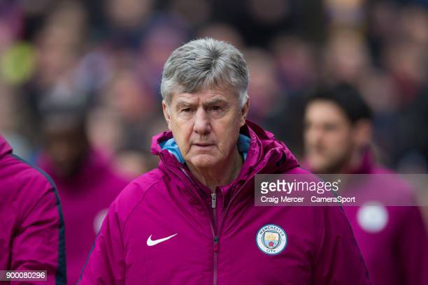 Manchester City coassistant coach Brian Kidd during the Premier League match between Crystal Palace and Manchester City at Selhurst Park on December...