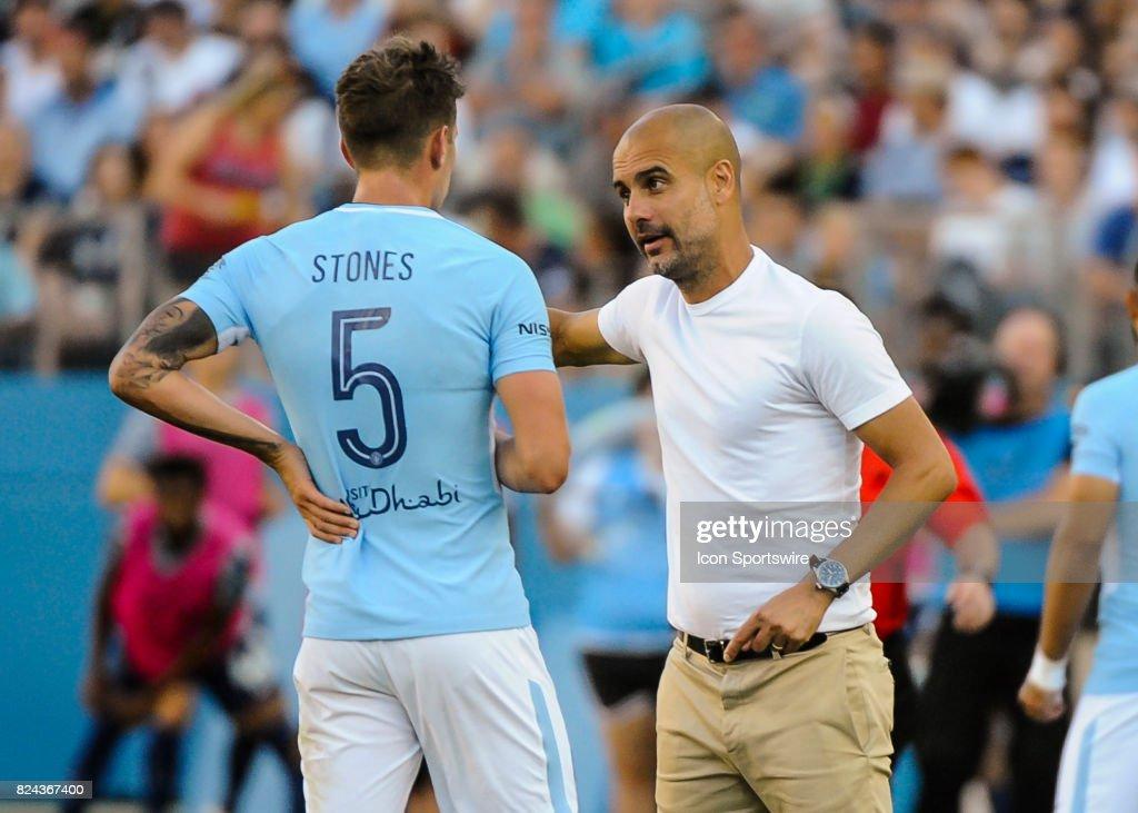 SOCCER: JUL 29 International Champions Cup - Tottenham Hotspur v Manchester City : ニュース写真