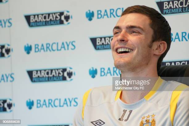 Manchester City FA Cup Final Preview Manchester City's Adam Johnson