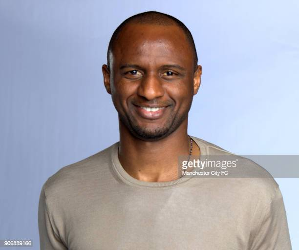 Manchester City FA Cup Final Preview Manchester City's Patrick Vieira