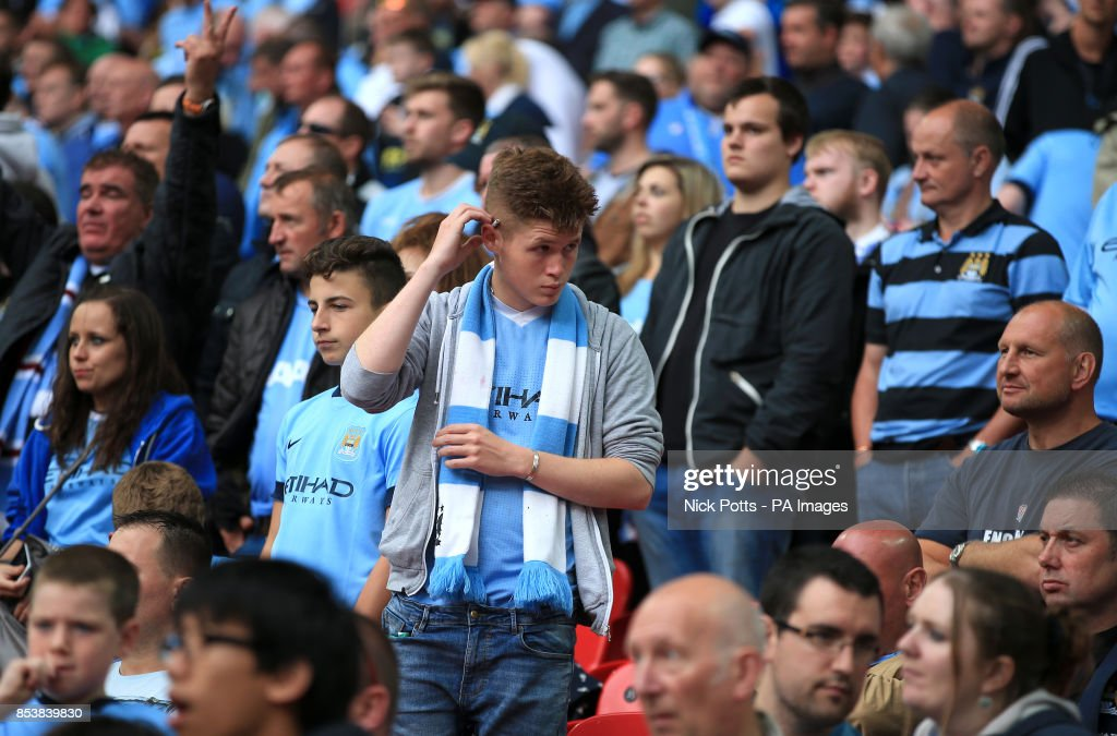 Soccer - Community Shield - Arsenal v Manchester City - Wembley Stadium : News Photo