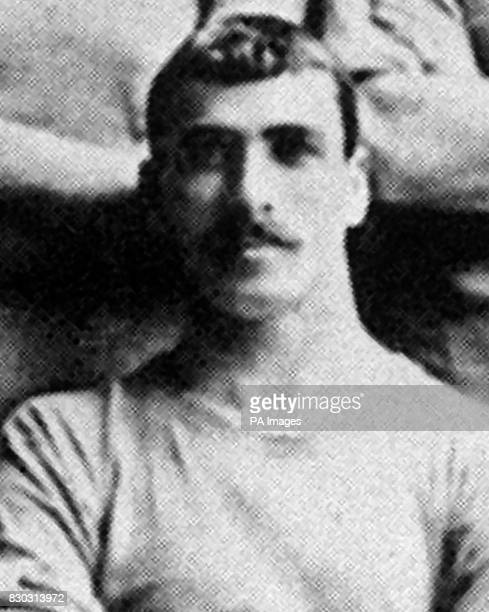 Manchester City F.C. Footballer Billy Meredith.