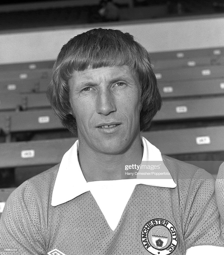 Manchester City F.C. Photo-call, Colin Bell. 31st July 1975. : News Photo