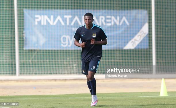 Manchester City FC U21s and Academy Pre Season Tour Spain Manchester City's Javairo Dilrosun