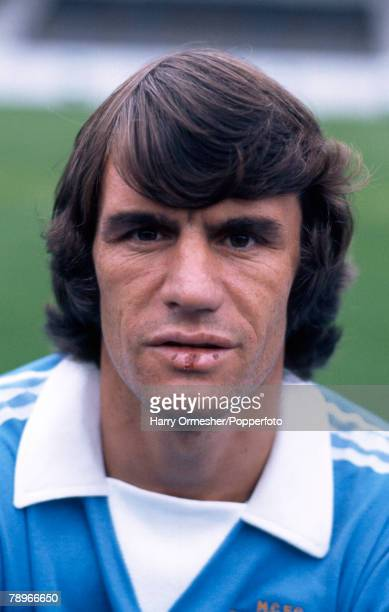 Football Manchester City FC Photocall A portrait of Dave Watson