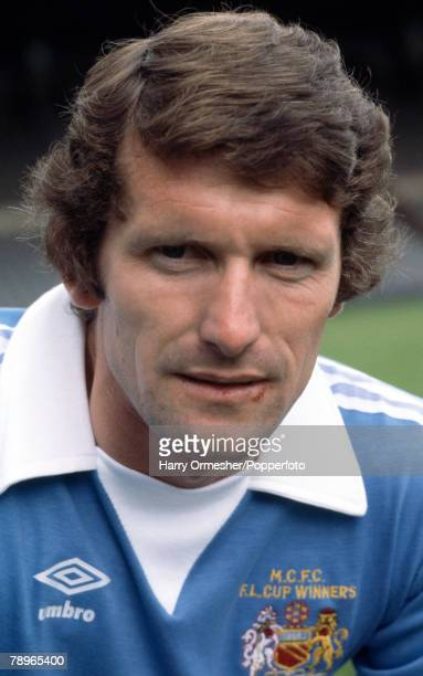 Football Manchester City FC Photocall A portrait of Mike Doyle