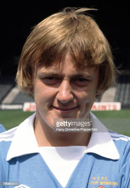 Football Manchester City FC Photocall A portrait of Peter Barnes