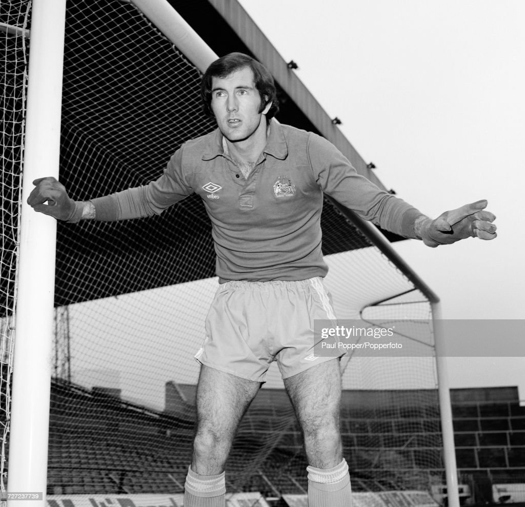 Joe Corrigan  -  Manchester City Goalkeeper : News Photo