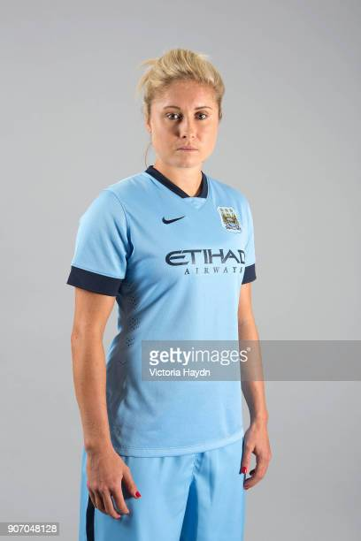 Manchester City Ladies Photocall 2014/15 Steph Houghton Manchester City