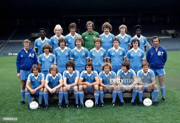 Football Season 1978/9 Manchester City Photocall The Manchester City squad pose together for a group photograph