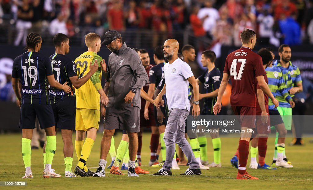 Manchester City v Liverpool - International Champions Cup 2018 : News Photo