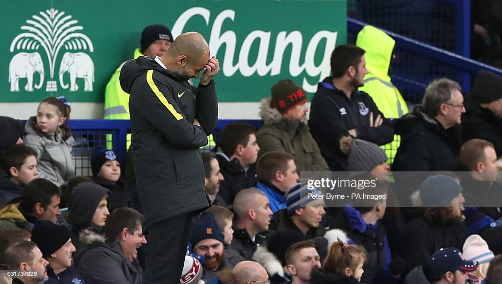 Everton v Manchester City - Premier League - Goodison Park : News Photo