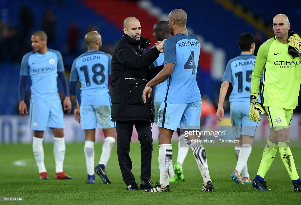 Crystal Palace v Manchester City - Emirates FA Cup - Selhurst Park : News Photo