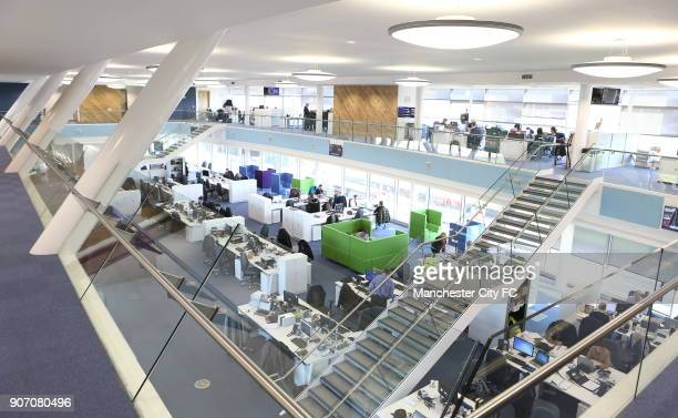 Manchester City New Training Ground The City Football Academy Manchester Head Quarters building main offices