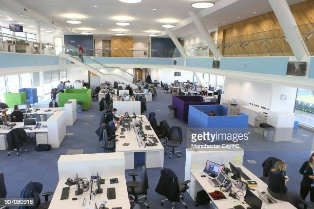 Manchester City New Training Ground The City Football Academy Manchester Head Quarters building the main offices
